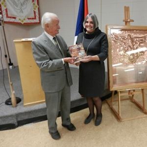 Copper Plaque - Presentation